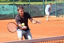 Prachatičtí tenisté přehráli LOKO Veselí nad Lužnicí 7:2. Ilustrační foto.