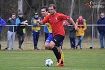 Fotbalová I.B třída: Prachatice B - Čkyně 1:0. Foto: Zdeněk Formánek