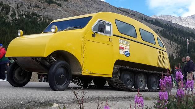 Speciální vozidlo našlo uplatnění nejen v Antarktidě.