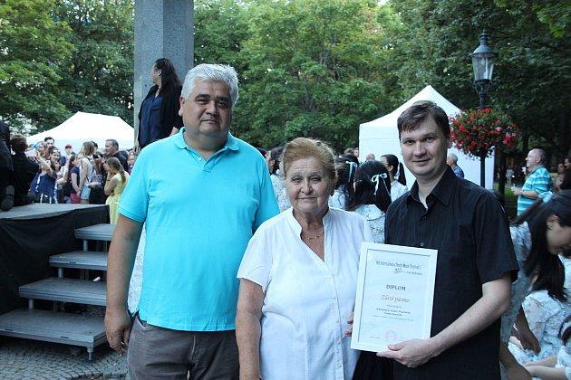 Klarinetový soubor Prachatice přivezl z Bratislavy zlatou cenu.
