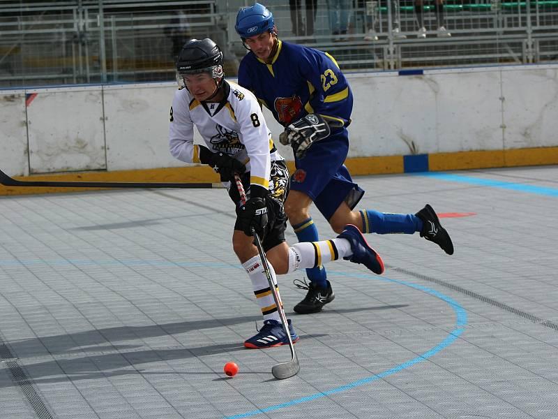 Cílem Jirky Štěpánka je hokejbalové Mistrovství světa U20.