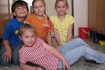 O tom, jak by mělo vypadat dětské hřiště jsme si povídali s Annou Zámečníkovou, Sandrou Uhlíkovou, Matějem Novákem a Kristýnou Štěpkovou. Všem je sedm let.