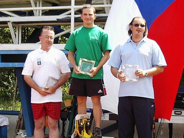 Robert Pročka ml. bral jednu zlatou medaili.