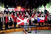 Prachatický sbor uspěl v Makedonii