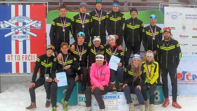 Vimperští lyžaři skvěle zakončili sezonu.