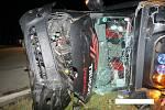 Vážná nehoda z pondělí 30. září u vitějovické Stopařky.