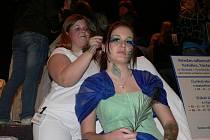 Své umění předvedly i kosmetičky a kadeřnice.