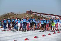 Šumavští lyžaři bojovali na Mistrovství světa juniorů v Almaty.