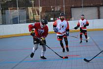Krajská liga hokejbalistů: Flames Volary - ŠD Písek B 3:17.