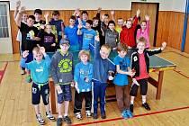 Mladí stolní tenisté se utkali na turnaji v Lenoře.