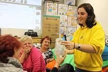 Na konci října přiletěla z Itálie do KreBul, o. p. s., do Prachatic, dobrovolnice Ada Lena na evropskou dobrovolnou službu.