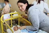 V pondělí 10. dubna deset minut po jedné hodině odpoledne se v prachatické porodnici narodil Matouš Kindlman. Vážil 3260 gramů a je prvním miminkem v rodině Martiny a Rostislava z Prachatic.