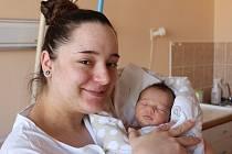 Šárka Frišová se narodila v prachatické porodnici v sobotu 11. února ve 4.15 hodin. Vážila 2720 gramů. Rodiče Šárka a Ladislav jsou z Dubu.