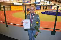 Barbora Havlíčková je Mistryní ČR žákyň na 1500 metrů.