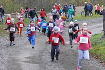 Xterra Trail Run je i pro nejmenší závodníky.