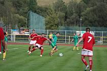 Fotbalová A třída: Prachatice - Strunkovice 1:1.