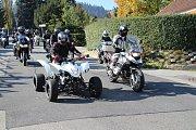 Posledních osmdesát kilometrů v sobotu 13. října společně jeli prachatičtí motorkáři. Uzavřeli sezonu 2018.