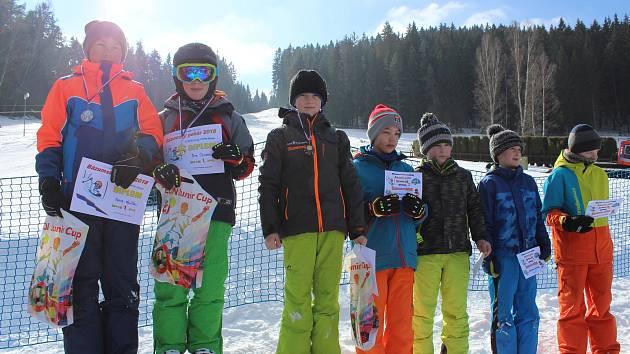 Bázumský pohár skončil závodem v Horní Vltavici.