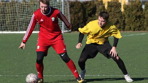 Fotbalová příprava: Jankov - Lhenice 2:0.