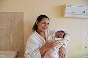 Eva ŠANDOROVÁ, Vimperk.Narodila se ve čtvrtek 20. prosince v 1 hodinu a 7 minut v prachatické porodnici. Vážila 3030 gramů. Má pět sourozenců (Růžena, Lenka, Vlasta, Patrik, Klaudie). Rodiče: Lenka a Vlastimil.