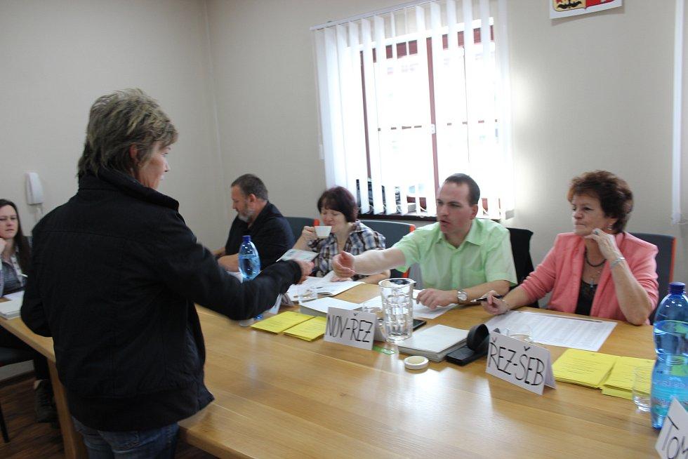 Druhé kolo prezidentských voleb ve Volarech.