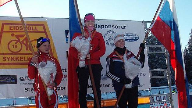 Aneta Grabmüllerová vyhrála MS v Norsku.