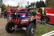 Správa NP Šumava zajišťuje požární ochranu společně s obcemi.