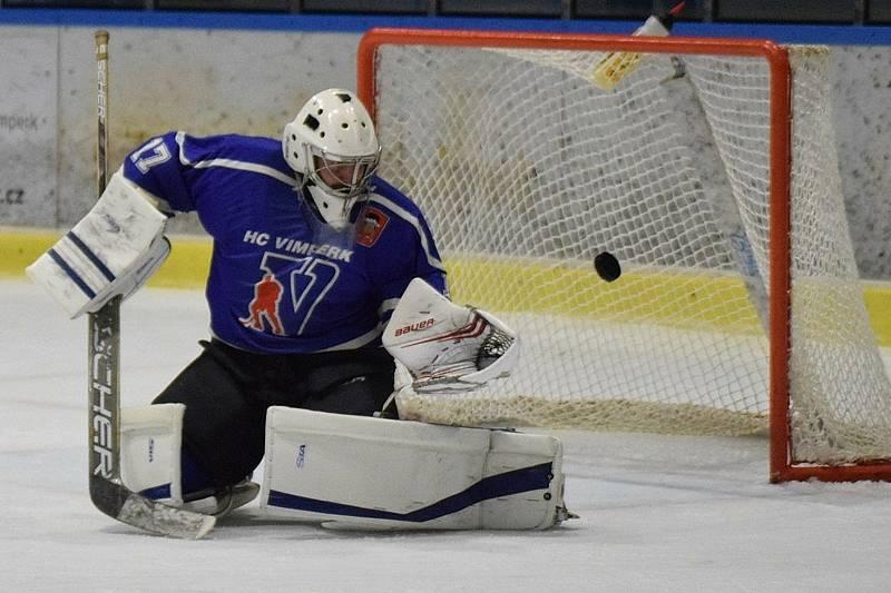 KL ledního hokeje: HC Vimperk - Střelci J. Hradec.