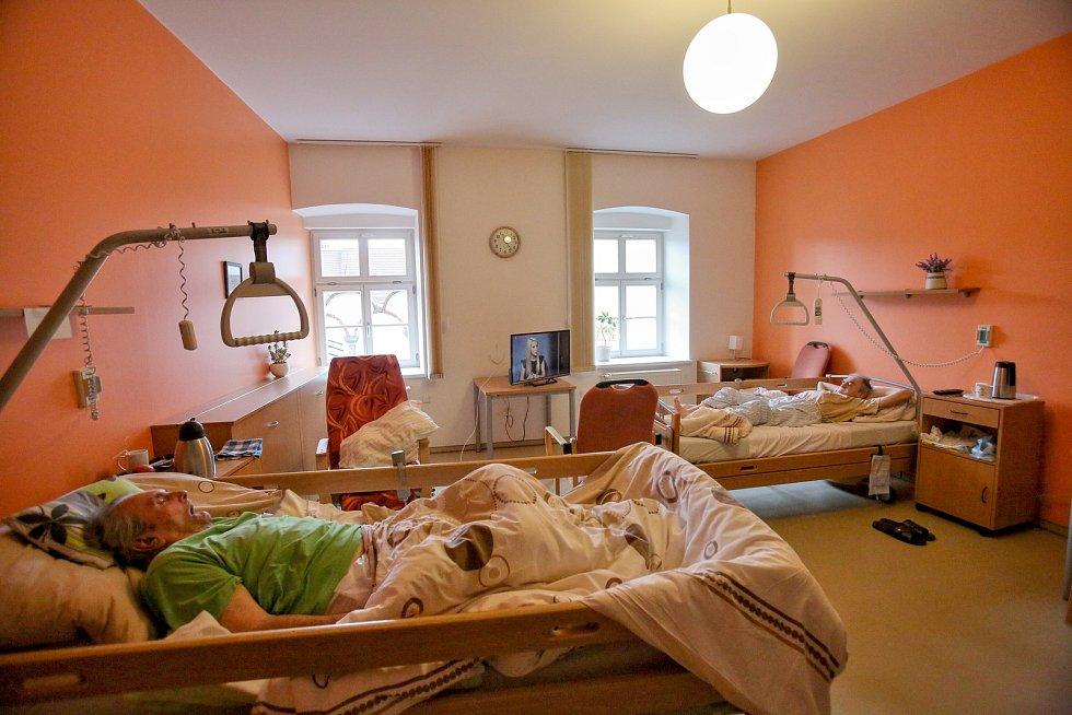 Kapacita prachatického hospice je před Vánoci zcela naplněná.