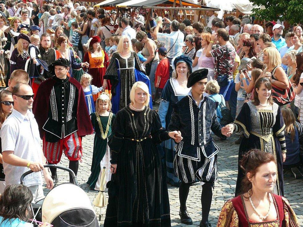 Slavnostní průvod zahájili prachatičtí měšťané.