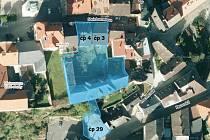 Nabízená cena, stav objektů a především absence jakéhokoliv využití ze strany města, to byly důvody, proč vimperští zastupitelé nevyužili nabídku na odkoupení tří objektů a souvisejících pozemků v ulicích Steinbrenerova a Pasovská (modře vybarvené území).