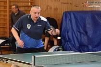 Pokračovaly okresní soutěže stolních tenistů.