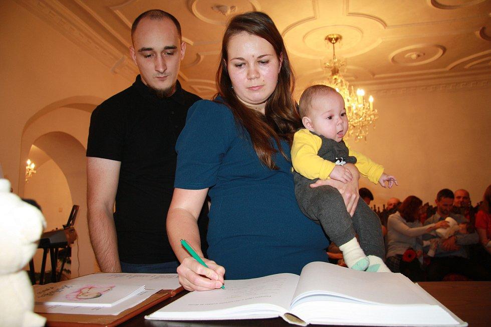 Michal Hlavatý s rodinou.
