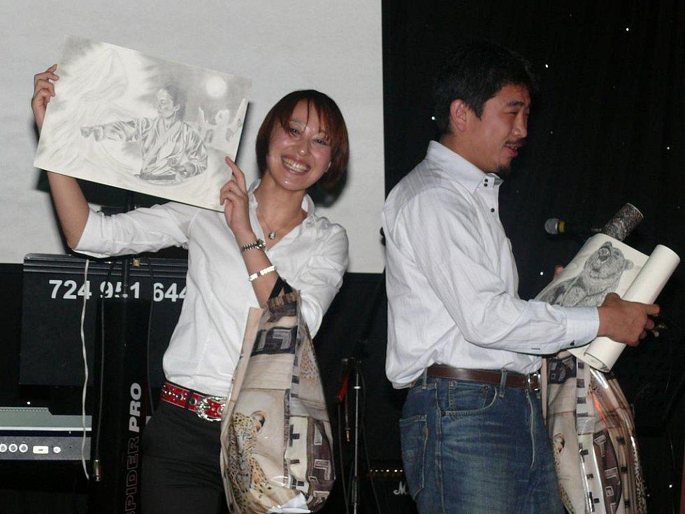 Party Gasshuku 2011 ve vimperském hotelu Zlatá hvězda.