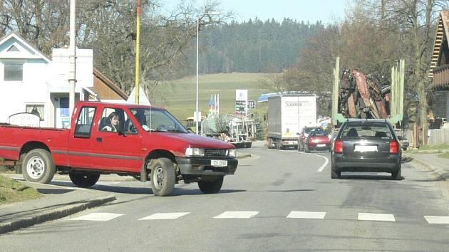 Volarští věří, že se jim podaří povolenou rychlost v Chlumu snížit.