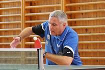 Stolní tenisté budou o víkendu hrát ve Vimperku o Zlatou Vánočku.