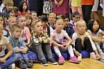 První školní den v Základní škole ve Volarech.