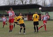 Fotbalový OP Prachaticka: Volary - Lhenice B 4:1.