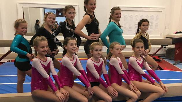 Gymnastky zakončily sezonu dvojbojem na Merkuru.