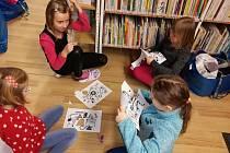 Malí čtenáři z Prachatic strávili noc s Andersenem v knihovně.