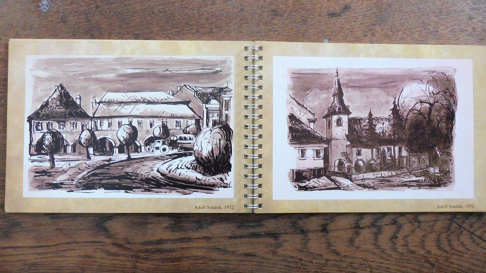 Nová výstava netolického muzea Netolice jako malované, k níž vznikla i obrazová kniha.