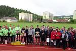 Klání atletů středních stavebních škol se uskutečnilo ve Vimperku.