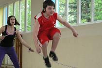 Rope skipping ve Lhenicích.