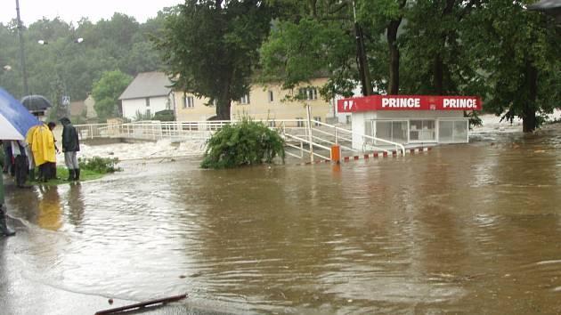 Povodně - srpen 2002