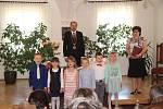 Starosta Prachatic Martin Malý přivítal mezi obyvatele města třináct nových občánků.