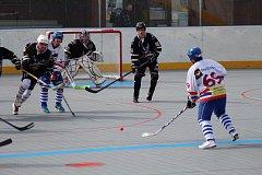 Hokejbalisté Highlanders Prachatice B porazili v Krajské lize českobudějovický Falcon 7:2.