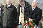 Slavnost u příležitosti svěcení hřbitova na Novém Světě u Borových Lad.
