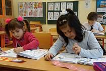 Děti z 1. B třídy Základní školy Smetanova ve Vimperku.