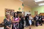 První školní den v ZŠ Prachatice, Zlatá stezka 387.