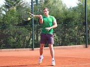 Okresním přeborníkem ve dvouhře se stal Vladimír Prošek z TK Prachatice.